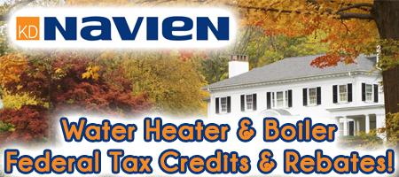 Navien Water Heaters Amp Boilers Credits Amp Rebates Rogers